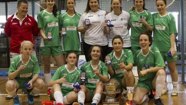 FNSW: 2015 Women's Futsal F-League Final between South Brisbane Futsal and Dural Warriors at Valentine Sports Park (photo: Damian Briggs)